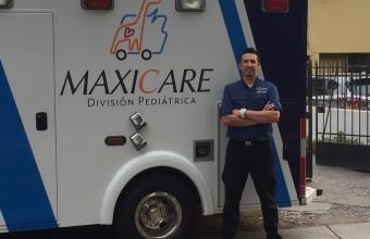 Jorge Salinas: enfermero, basquetbolista y emprendedor