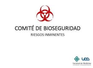 Comité Bioseguridad