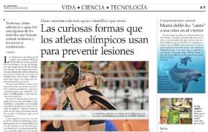 Las curiosas formas que los ateltas olímpicos usan para prevenir lesiones