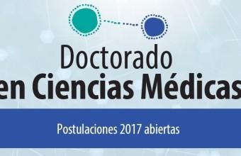 Se inician las postulaciones para el Doctorado en Ciencias Médicas