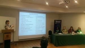 Claudia Pérez en Encuentro Internacional 2