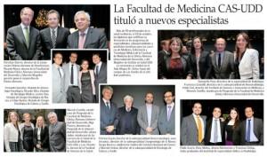 La Facultad de Medicina CAS-UDD tituló a nuevos especialistas