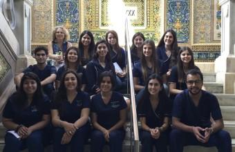 Estudiantes de Enfermería UDD realizaron programa de intercambio en Barcelona