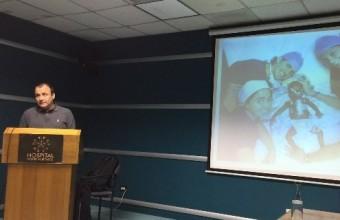 Director ejecutivo de la International Children's Heart Foundation realizó charla en el Hospital Padre Hurtado