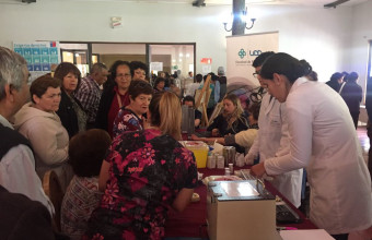 UDD participa en Feria de Rehabilitación de La Pintana