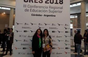 Directora de la Unidad de Calidad participó en congreso internacional sobre Educación Superior