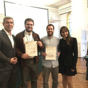 Alumnos del Magíster en Terapia Física y Rehabilitación (MAKI) presentan trabajos en Congreso de Kinesiología