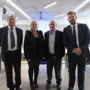 Expertos internacionales en exosomas visitaron el ICIM
