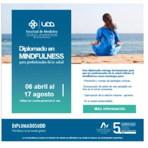 Diplomado Mindfulness para profesionales de la Salud: desde el autocuidado hasta su aplicación en pacientes  - 2° versión
