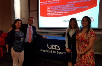 Director del Programa de Salud Olimpiadas Especiales Latinoamérica dicta charla en la UDD