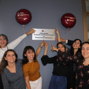 Programa de Inmunogenética Traslacional ICIM es reconocido por Fundación Jeffrey Modell
