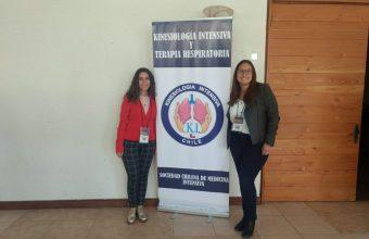Estudiantes de Kinesiología UDD participan en Congreso Interdisciplinario de Medicina Intensiva
