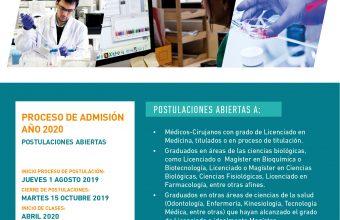 Doctorado en Ciencias e Innovación en Medicina abre sus postulaciones 2020
