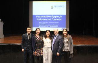 Experto de la Universidad Johns Hopkins realiza charla de actualización sobre Disfagia post Extubación