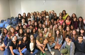 Alumnos de primer año de Fonoaudiología UDD concluyeron Semana Puente