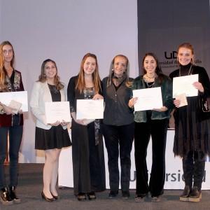 Alumnos y profesores de Fonoaudiología UDD recibieron distinción a la excelencia