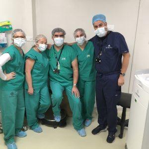 Estudiantes de Fonoaudiología UDD presencian Cirugía Cerebral