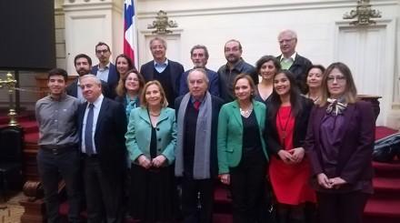 Integrantes de la Comisión (Foto Felipe Poga)
