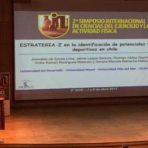 Trabajo de investigación de pasante de Kinesiología obtuvo primer lugar en Simposio Internacional