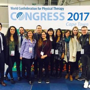 Magíster en Terapia Física y Rehabilitación UDD participó en Congreso Mundial de Kinesiología en Sudáfrica