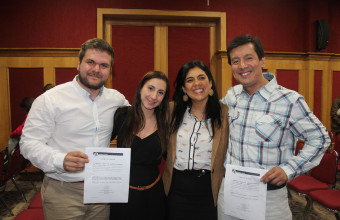Exitosa participación de la UDD en Congreso Chileno de Medicina Intensiva