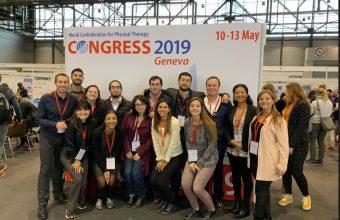 Exitosa participación de Kinesiología UDD en Congreso Mundial 2019