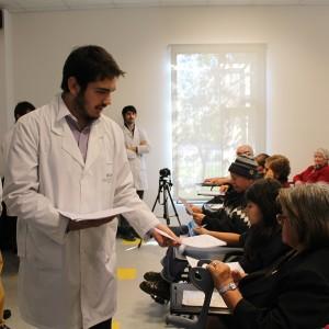 Internos de Medicina realizaron taller a pacientes de Cesfam de La Granja