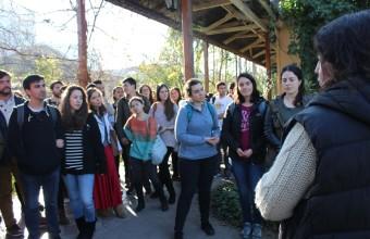 Estudiantes de Medicina visitaron antiguo Hospital San José