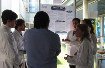 Alumnos de medicina presentaron sus proyectos de investigación e innovación en HPH