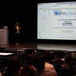 Charla GEMx para alumnos de medicina