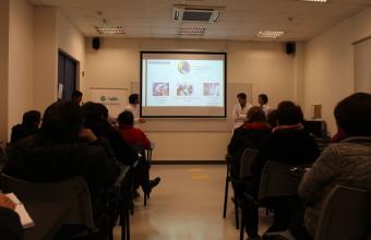 """Alumnos internos de la carrera de medicina exponen su proyecto """"Análisis y repercusiones del paciente poli-inasistente"""""""