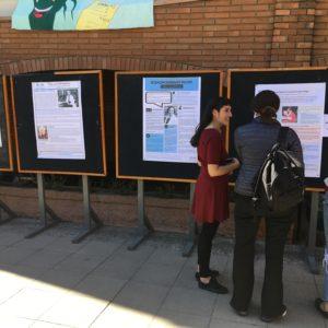Estudiantes de Medicina presentan sobre mujeres, ciencia y discriminación para ramo de Responsabilidad Pública