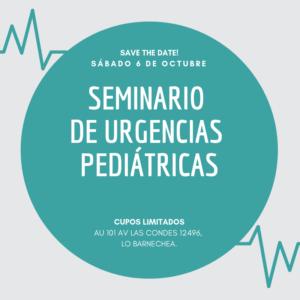 Se realizará novedoso Seminario de Urgencias Pediátricas