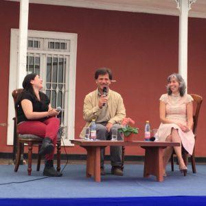 """Académica UDD participó en actividad cultural """"Encuentro Santiago"""""""