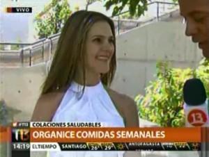 Colaciones Saludable Canal 13 -03 de marzo 2014