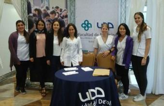 Nutrición y Dietética UDD presente en ExpoJunaeb 2017