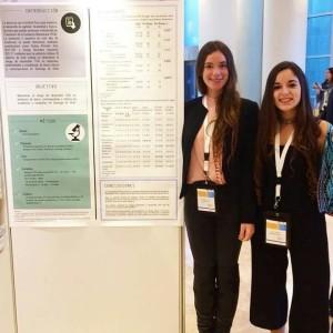 Internas de Nutrición y Dietética UDD expusieron su tesis en Congreso de Achinumet