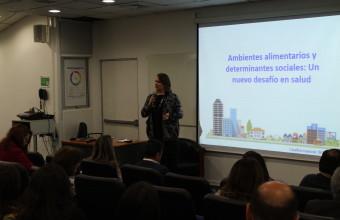 Con éxito se desarrolló Workshop de Entornos Alimentarios