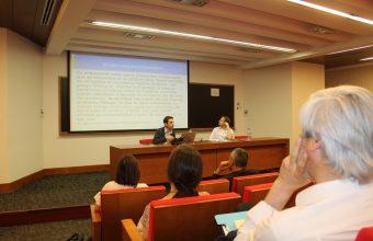 Realizan workshop conflictos socio-ecológicos y presentan libro de Ética Animal