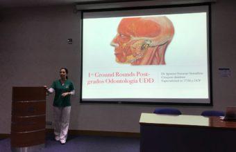 Postgrados de odontología realizan charlas para integrar conocimientos