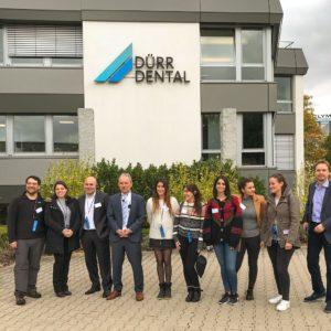 Alumnas de Postgrado odontológico de imagenología viajan a Alemania