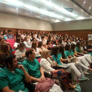 Alumnos de 4º año de odontología inician la Clínica Integral del Adulto 1