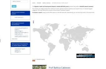 Investigadora UDD es parte de inédito portal mundial sobre investigación en salud y migración