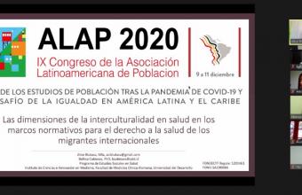 Investigadoras de Proessa UDD participaron en Congreso ALAP 2020