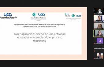 Realizan taller con estudiantes de Enfermería para pilotaje de manual dirigido a migrantes