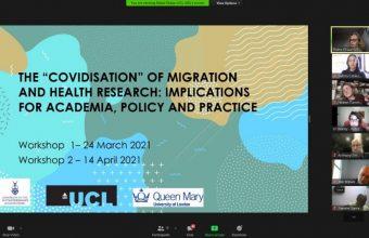 Directora de Proessa UDD participó en workshop internacional sobre migración y Covid-19