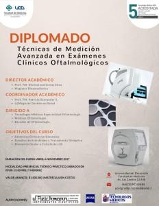 afiche diplomado oftalmología