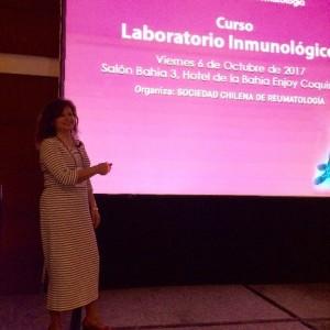 UDD en XXXI Congreso Chileno de Reumatología