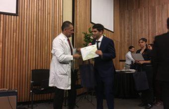 Mutual de Seguridad premia interno de Tecnología Médica UDD