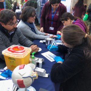 Tecnología Médica participa en operativo de salud en Centro Penitenciario de mujeres